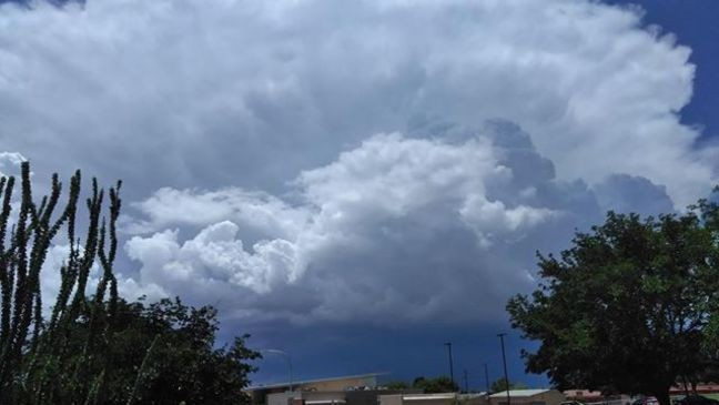Scattered showers appear in El Paso | KDBC