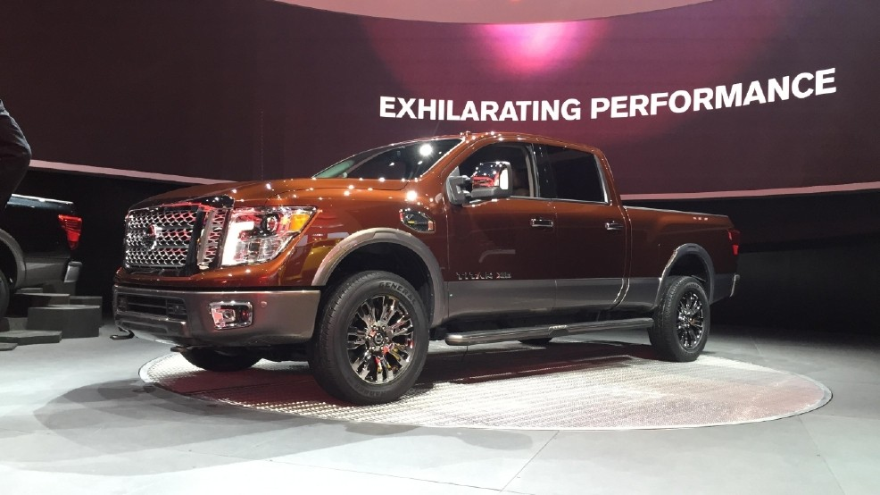 2016 Nissan An Xd Aims To Fill The White E With New Truck